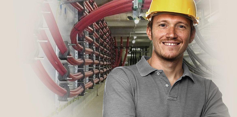 Abrazaderas para cables y bloques para cables de diseño de alta innovación para el montaje de cables de alta, media y baja tensión.