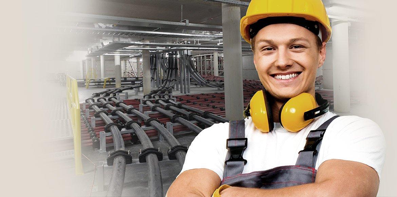 Innovatieve kabelklemmen en kabelblokken voor de montage van laag-, midden- en hoogspanningskabels